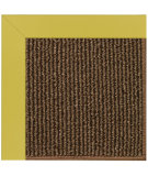 RugStudio presents Capel Zoe-Java Sisal 108432 Citronella Area Rug