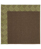 RugStudio presents Capel Zoe-Java Sisal 62935 Mossy Green Machine Woven, Best Quality Area Rug