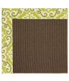 RugStudio presents Capel Zoe-Java Sisal 62916 Green Fruit Machine Woven, Best Quality Area Rug