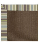 RugStudio presents Capel Zoe-Java Sisal 62880 Blue Stripe Machine Woven, Best Quality Area Rug