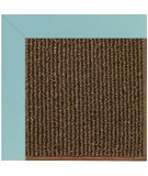 RugStudio presents Capel Zoe-Java Sisal 108444 Seafaring Blue Area Rug
