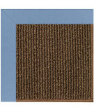 RugStudio presents Capel Zoe-Java Sisal 108438 Medium Blue Area Rug