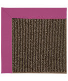 RugStudio presents Capel Zoe-Java Sisal 67179 Fuchsia Machine Woven, Good Quality Area Rug
