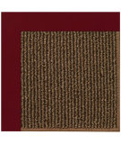 RugStudio presents Capel Zoe-Java Sisal 108446 Wine Area Rug