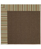 RugStudio presents Capel Zoe-Java Sisal 62963 Tan Stripe Machine Woven, Best Quality Area Rug