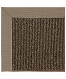 RugStudio presents Capel Zoe-Java Sisal 67180 Medium Brown Machine Woven, Good Quality Area Rug