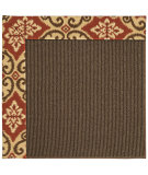 RugStudio presents Capel Zoe-Java Sisal 62965 Terra Cotta Machine Woven, Best Quality Area Rug
