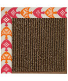 RugStudio presents Capel Zoe-Java Sisal 108426 Autumn Area Rug