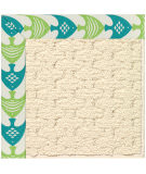 RugStudio presents Capel Zoe-Sugar Mountain 108485 Angel Fish Green Area Rug