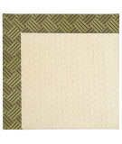 RugStudio presents Capel Zoe-Sugar Mountain 63041 Mossy Green Machine Woven, Best Quality Area Rug