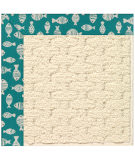 RugStudio presents Capel Zoe-Sugar Mountain 108505 Sea Green Area Rug
