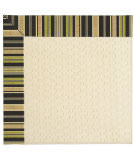 RugStudio presents Capel Zoe-Sugar Mountain 62999 Charcoal Stripe Machine Woven, Best Quality Area Rug