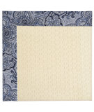 RugStudio presents Capel Zoe-Sugar Mountain 63004 Cobalt Blue Machine Woven, Best Quality Area Rug