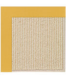 RugStudio presents Capel Zoe-Beach Sisal 108356 Jonquil Hand-Tufted, Best Quality Area Rug