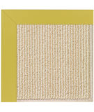 RugStudio presents Capel Zoe-Beach Sisal 108351 Citronella Area Rug