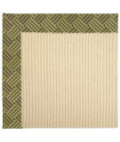RugStudio presents Capel Zoe-Beach Sisal 62827 Mossy Green Machine Woven, Best Quality Area Rug