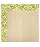 RugStudio presents Capel Zoe-Beach Sisal 62808 Green Fruit Machine Woven, Best Quality Area Rug