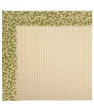 RugStudio presents Capel Zoe-Beach Sisal 62807 Green Avocado Machine Woven, Best Quality Area Rug