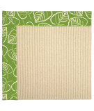 RugStudio presents Capel Zoe-Beach Sisal 62852 Spring Green Machine Woven, Best Quality Area Rug