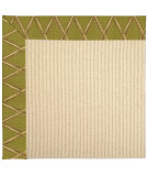 RugStudio presents Capel Zoe-Beach Sisal 62762 Basil Machine Woven, Best Quality Area Rug