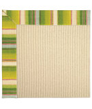 RugStudio presents Capel Zoe-Beach Sisal 62803 Fresh Green Machine Woven, Best Quality Area Rug