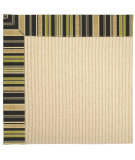 RugStudio presents Capel Zoe-Beach Sisal 62785 Charcoal Stripe Machine Woven, Best Quality Area Rug