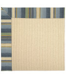 RugStudio presents Capel Zoe-Beach Sisal 62772 Blue Seas Machine Woven, Best Quality Area Rug