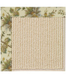 RugStudio presents Capel Zoe-Beach Sisal 108359 Oceanic Blue Area Rug