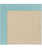 RugStudio presents Capel Zoe-Beach Sisal 108364 Seafaring Blue Area Rug