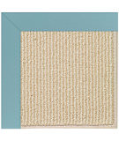 RugStudio presents Capel Zoe-Beach Sisal 108348 Bright Blue Area Rug