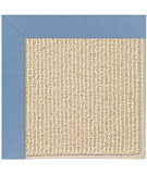 RugStudio presents Capel Zoe-Beach Sisal 108358 Medium Blue Hand-Tufted, Best Quality Area Rug