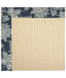 RugStudio presents Capel Zoe-Beach Sisal 62794 Dark Blue Machine Woven, Best Quality Area Rug