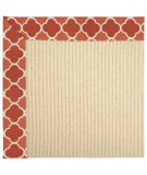 RugStudio presents Capel Zoe-Beach Sisal 62843 Red Pepper Machine Woven, Best Quality Area Rug