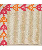 RugStudio presents Capel Zoe-Beach Sisal 108345 Autumn Area Rug