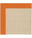 RugStudio presents Capel Zoe-Beach Sisal 108352 Clementine Hand-Tufted, Best Quality Area Rug