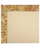 RugStudio presents Capel Zoe-Beach Sisal 62777 Bronze Flowers Machine Woven, Best Quality Area Rug