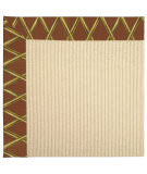 RugStudio presents Capel Zoe-Beach Sisal 62787 Cinnabar Honey Machine Woven, Best Quality Area Rug