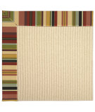 RugStudio presents Capel Zoe-Beach Sisal 62769 Black Multi Machine Woven, Best Quality Area Rug