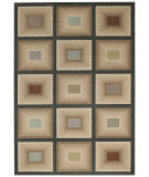 RugStudio presents Capel Quiescent-Blocks 55263 Machine Woven, Better Quality Area Rug