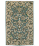 RugStudio presents Capel Kingship 62709 Green Sand Hand-Tufted, Good Quality Area Rug