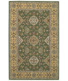 RugStudio presents Capel Kingship 62713 Shamrock Light Gold Hand-Tufted, Good Quality Area Rug