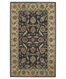 RugStudio presents Capel Kingship 62705 Charcoal Light Gold Hand-Tufted, Good Quality Area Rug