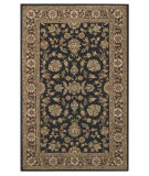 RugStudio presents Capel Kingship 62704 Charcoal Chestnut Hand-Tufted, Good Quality Area Rug