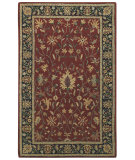 RugStudio presents Capel Kingship 62706 Crimson Charcoal Hand-Tufted, Good Quality Area Rug
