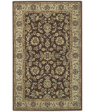 RugStudio presents Capel Kingship 62710 Dark Brown Beige Hand-Tufted, Good Quality Area Rug