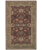 RugStudio presents Capel Kingship 62708 Dark Chestnut Sand Hand-Tufted, Good Quality Area Rug