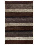 RugStudio presents Capel City View 67033 Chestnut Multi Hand-Tufted, Good Quality Area Rug