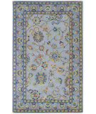 RugStudio presents Capel Charisma-Keshan 116379 Pale Grey Hand-Tufted, Good Quality Area Rug