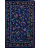 RugStudio presents Capel Charisma-Keshan 116380 Periwinkle Hand-Tufted, Good Quality Area Rug