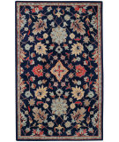 RugStudio presents Capel Charisma-Ziegler 116396 Deep Blue Hand-Tufted, Good Quality Area Rug
